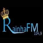 Logo da emissora Rádio Rainha 104.9 FM