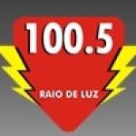 Logo da emissora Rádio Raio de Luz 100.5 FM