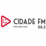 Logo da emissora Rádio Cidade 98.3 FM