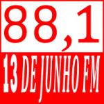Logo da emissora Rádio 13 de Junho FM