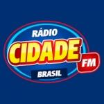 Logo da emissora Rádio Cidade FM Brasil