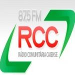 Logo da emissora Rádio RCC Comunitária Caiense 105.9 FM