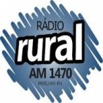 Logo da emissora Rádio Rural 1470 AM