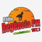 Logo da emissora Rádio Regência 107.1 FM