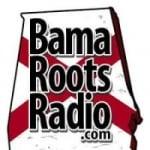 Logo da emissora Bama Roots Radio