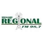 Logo da emissora Rádio Regional 98.7 FM