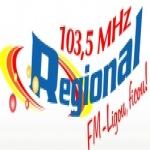 Logo da emissora Rádio Regional 103.5 FM