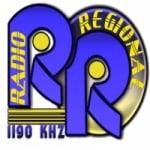 Logo da emissora Rádio Regional 1190 AM