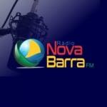 Logo da emissora Rádio Nova Barra FM
