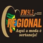 Logo da emissora Rádio Regional 91.3 FM