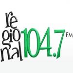 Logo da emissora Rádio Regional 104.7 FM