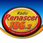 Logo da emissora Rádio Renascer 106.3 FM