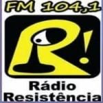 Logo da emissora Rádio Resistência FM