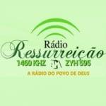 Logo da emissora Rádio Ressurreição 1460 AM