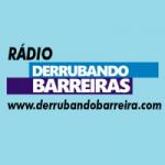 Logo da emissora Rádio Derrubando Barreira