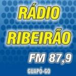Logo da emissora Rádio Ribeirão 87.9 FM