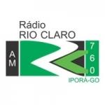 Logo da emissora Rádio Rio Claro 760 AM
