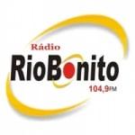 Logo da emissora Rádio Rio Bonito 104.9 FM