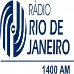 Logo da emissora Rádio Rio de Janeiro 1400 AM