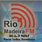 Logo da emissora Rádio Rio Madeira 105.9 FM