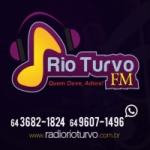 Logo da emissora Rádio Rio Turvo 87.9 FM