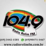 Logo da emissora Rádio Rolim 104.9 FM