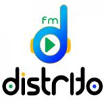 Logo da emissora Rádio Distrito FM