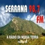 Logo da emissora Rádio Serrana FM Bauru