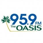 Logo da emissora KAJR 95.9 FM The Oasis