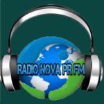 Logo da emissora Rádio Nova Paraná FM