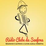 Logo da emissora Rádio Clube Da Sanfona