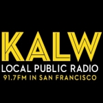 Logo da emissora Radio KALW 91.7 FM