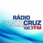 Logo da emissora Rádio Santa Cruz 100.3 FM