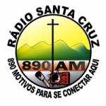 Logo da emissora Rádio Santa Cruz 890 AM