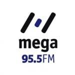 Logo da emissora Rádio Mega 95.5 FM