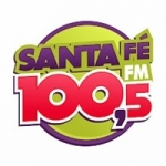 Logo da emissora Rádio Santa Fé 100.5 FM