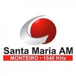 Logo da emissora Rádio Santa Maria 1540 AM