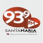 Logo da emissora Rádio Santa Maria 93.9 FM
