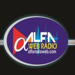 Logo da emissora Alfa Rádio Web