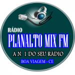 Logo da emissora Rádio Planalto Mix FM