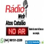 Logo da emissora Web Rádio Atos Catalão