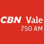 Logo da emissora Rádio CBN Vale 750 AM