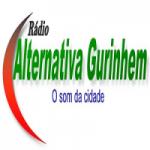 Logo da emissora Rádio Alternativa Gurinhém