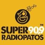 Logo da emissora Rádio Super Radiopatos 90.9 FM