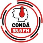Logo da emissora Rádio Super Condá 98.9 FM