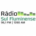 Logo da emissora Rádio Sul Fluminense 96.1 FM 1390 AM