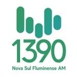 Logo da emissora Rádio Nova Sul Fluminense 1390 AM