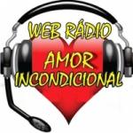 Logo da emissora Rádio Amor Incondicional