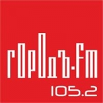 Logo da emissora Radio Gorod 105.2 FM