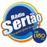 Logo da emissora Rádio Sertão 1450 AM